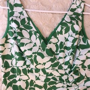 Donna Ricco Green Leafy Dress🌿so pretty!